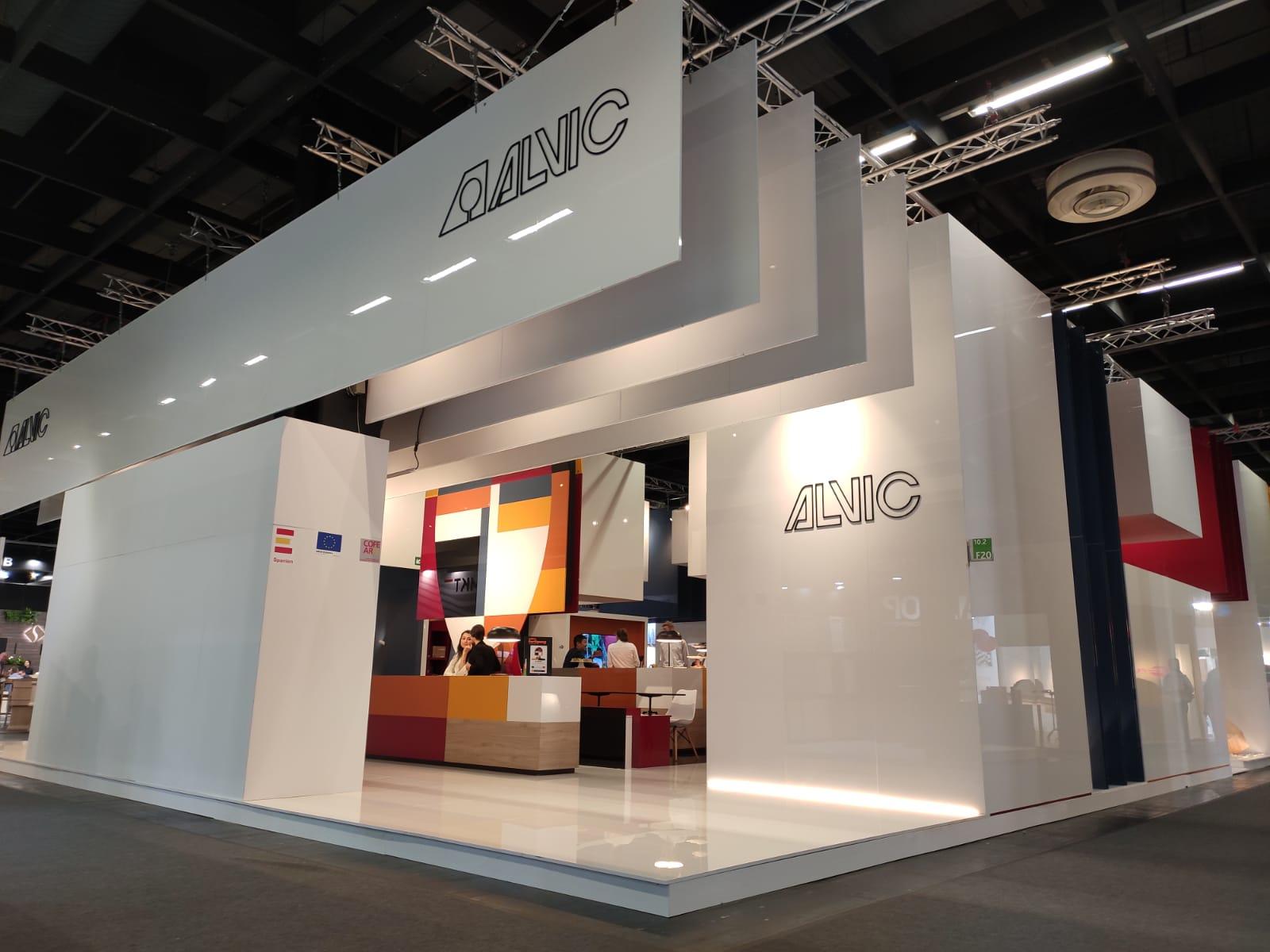 ALVIC se consolida en interzum como referente internacional en productos para mobiliario y decoración