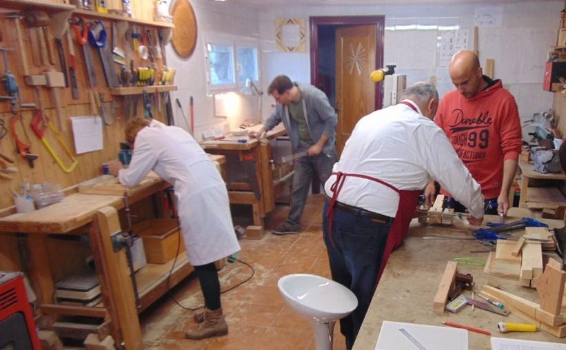 TASARESTAURA impartirá cuatro cursos de verano de carpintería, ebanistería, talla y marquetería