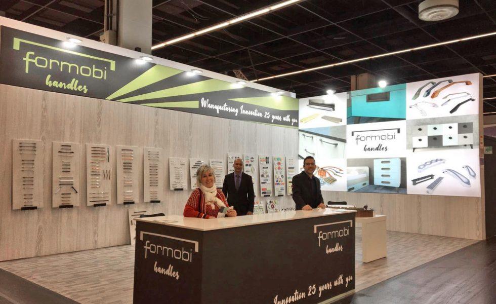 Las 13 empresas españolas coordinadas por COFEARFE y el ICEX, satisfechos con interzum