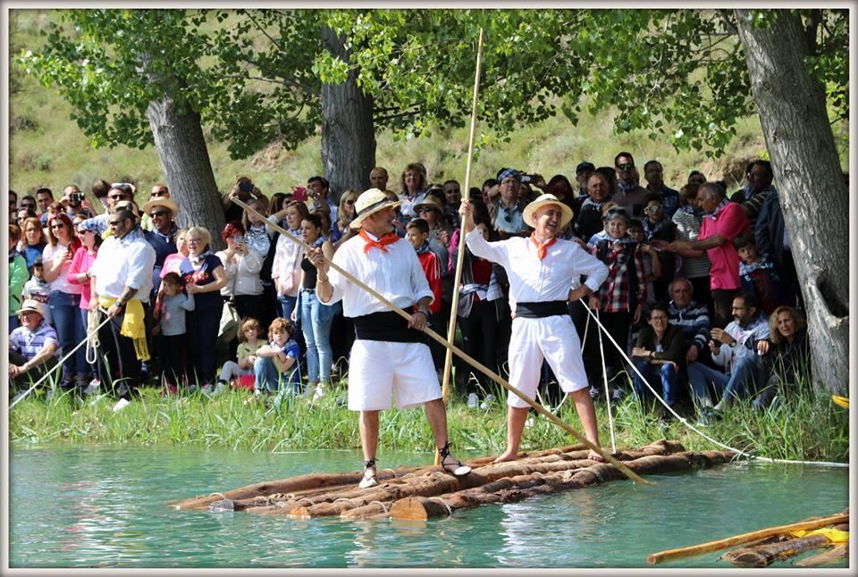 Los madereros de Cofrentes volvieron al río Cabriel