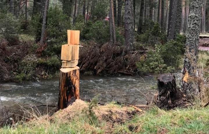 Orea celebró el Día del Libro con esculturas de madera