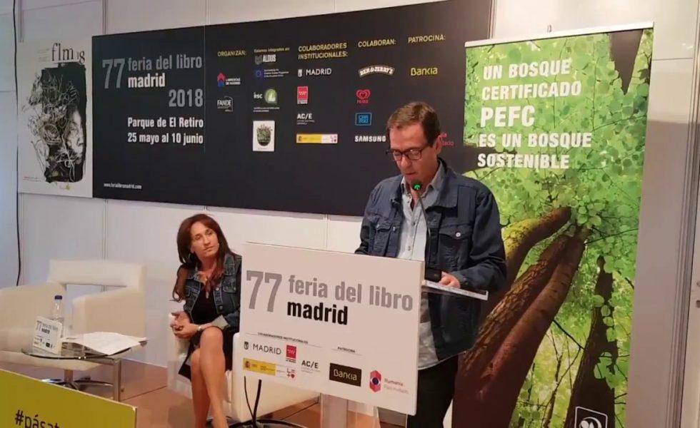 PEFC organiza en la Feria del Libro de Madrid una lectura de novela de aventura