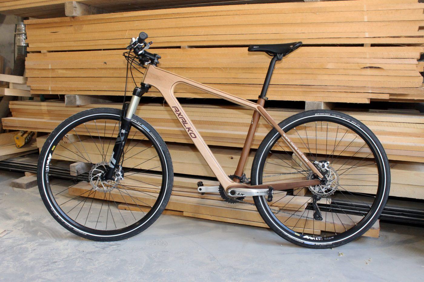 TXIRBIL sorprende al mercado con sus bicicletas de madera