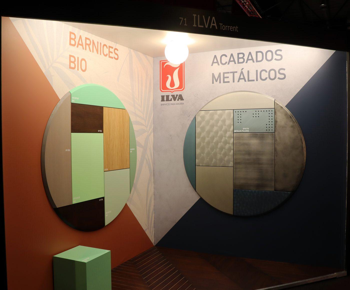 ILVA presentó en Architect&Work sus barnices BIO