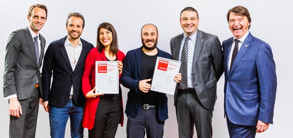 X-MATT premiado con un interzum Award