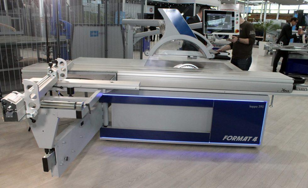 Sierra de paneles FORMAT-4 kappa 590 e-motion | x-motion