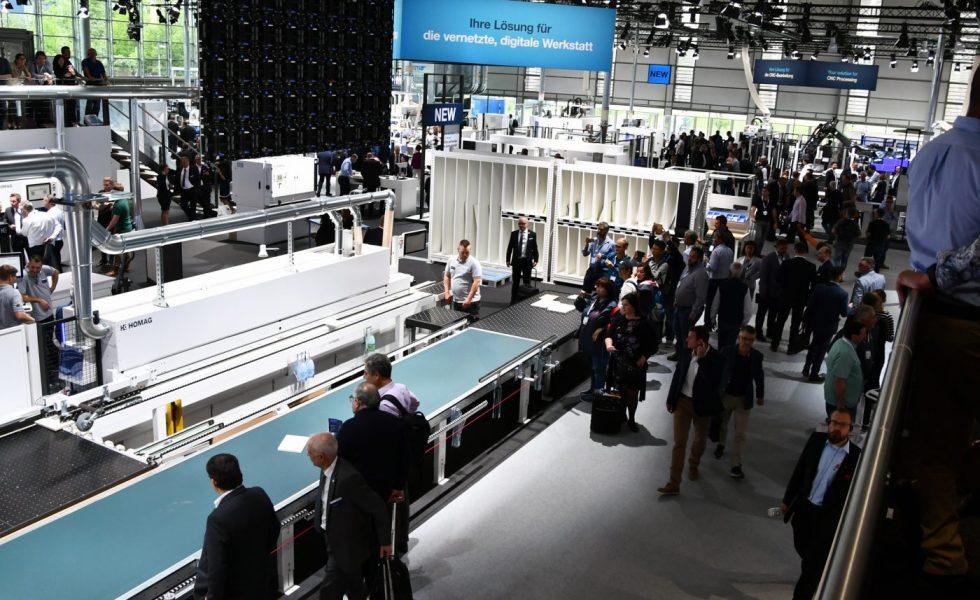 HOMAG ocupó en LIGNA 5.000 m² llenos de innovaciones