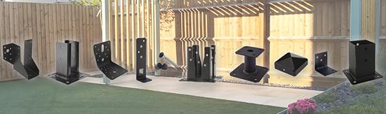 SIMPSON STRONG-TIE lanza una gama de conectores para jardín y casa