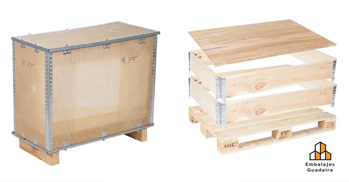 EMBALAJES GUADAIRA confía en la resistencia de las cajas de madera