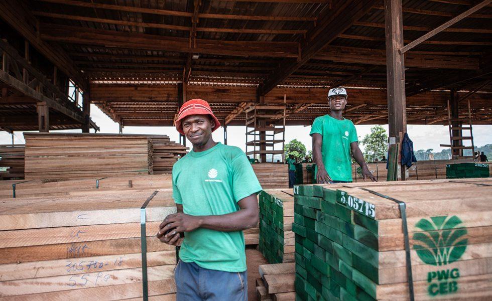 La gestión forestal certificada es un factor importante para reducir la pobreza en la Cuenca del Congo