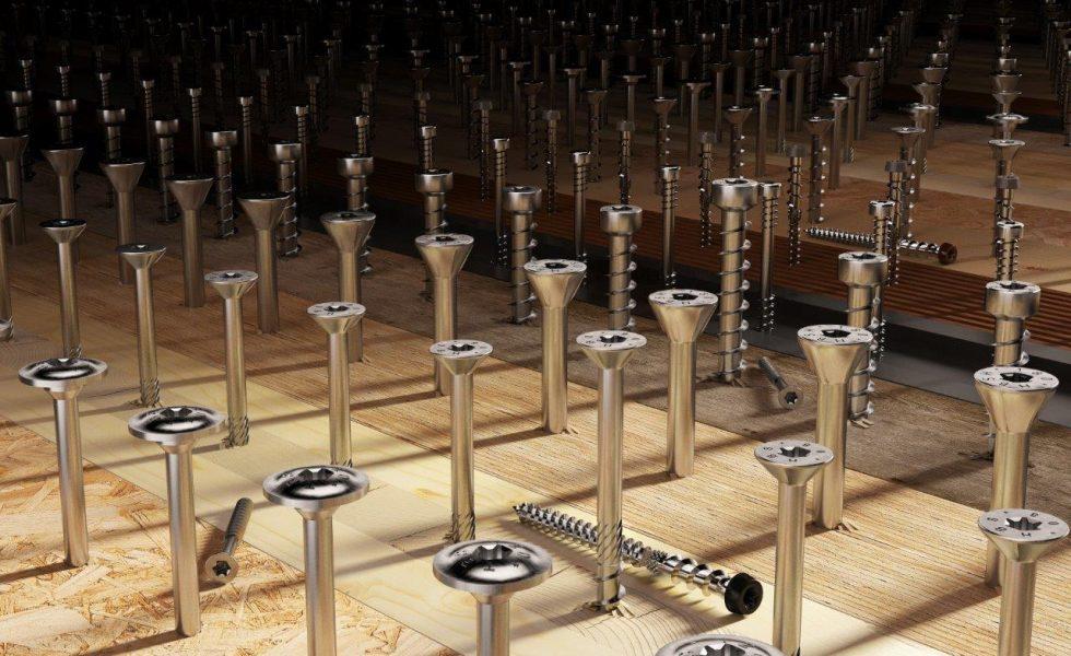 ROTHOBLAAS presenta su nuevo catálogo de tornillos y conectores para madera