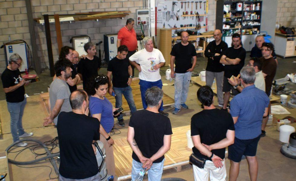 Curso sobre pavimentos de madera para profesores de Formación Profesional de Madrid