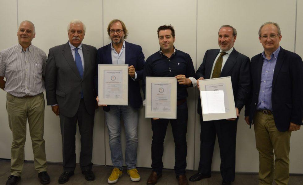 CALORDOM, GEBIO y ERBI, las tres primeras empresas que obtienen el sello de calidad de AVEBIOM