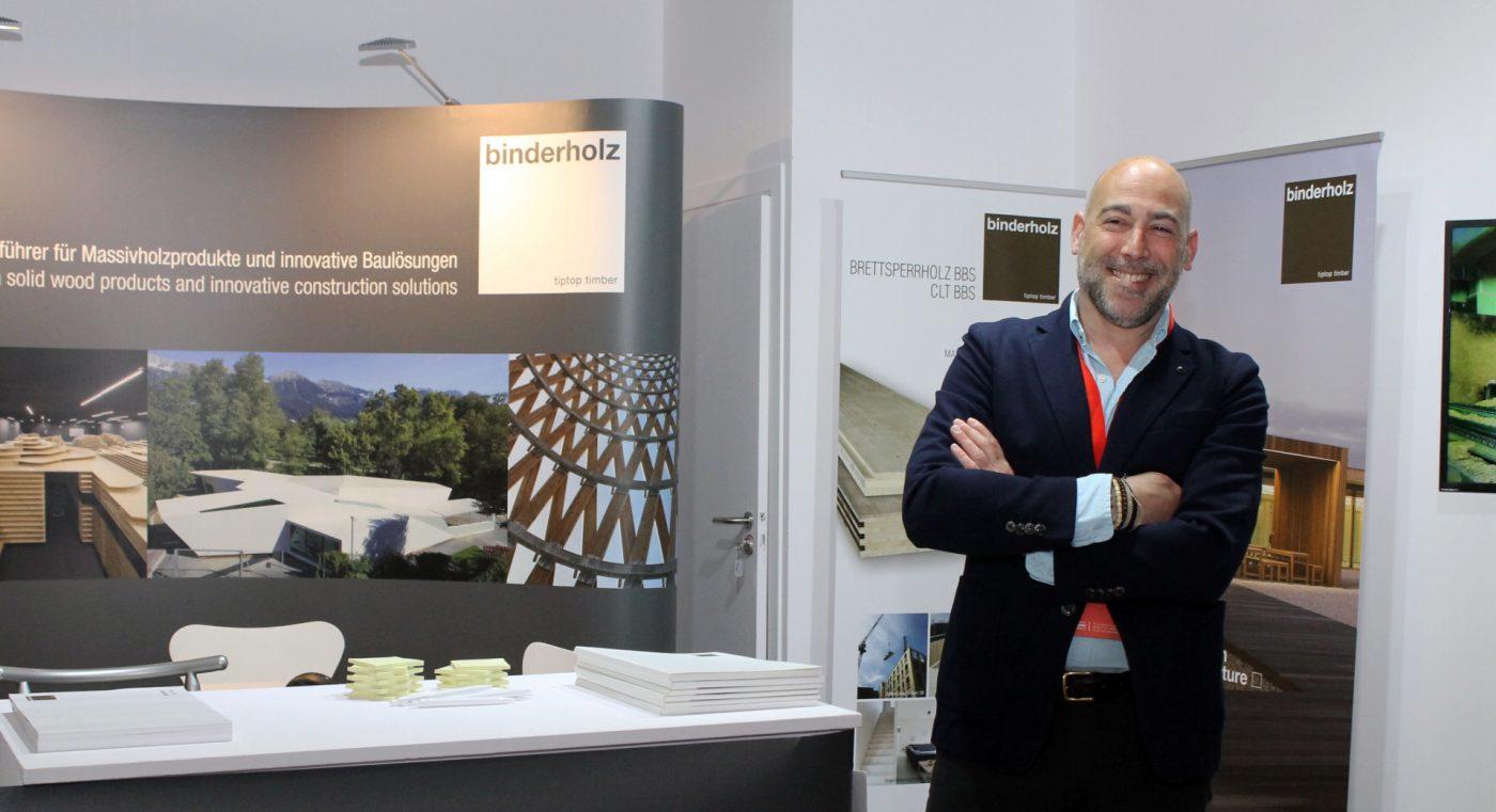 BINDERHOLZ ofrece al mercado español su potencial como fabricante de CLT