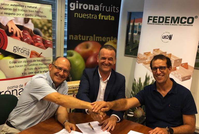 Acuerdo de colaboración y promoción entre FEDEMCO y POMA DE GIRONA