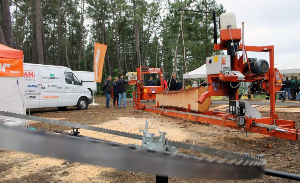 HERSAN exhibió en ASTURFORESTA una solución completa y asequible de aserrío portátil