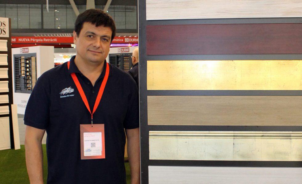 ZOCALOS DE AUTOR exhibió nuevos acabados en Construmat