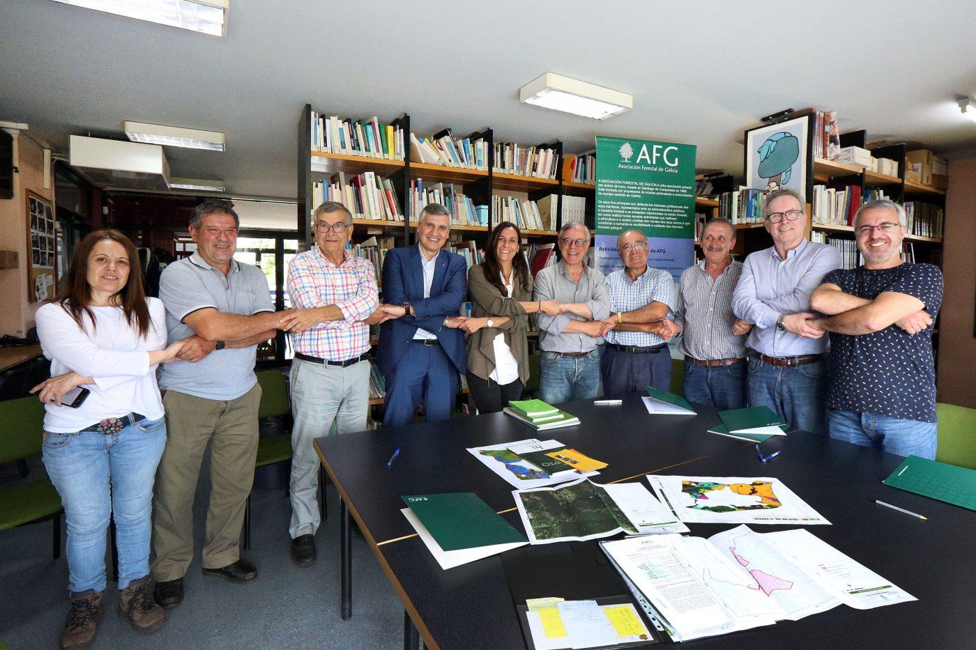 AFG impulsa la restauración de montes afectados por los incendios de 2017