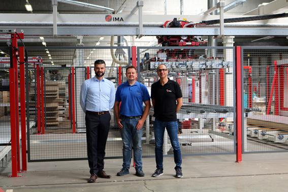 LECHNER confía en las soluciones a medida de IMA Schelling para la modernización de su almacén de materiales de madera