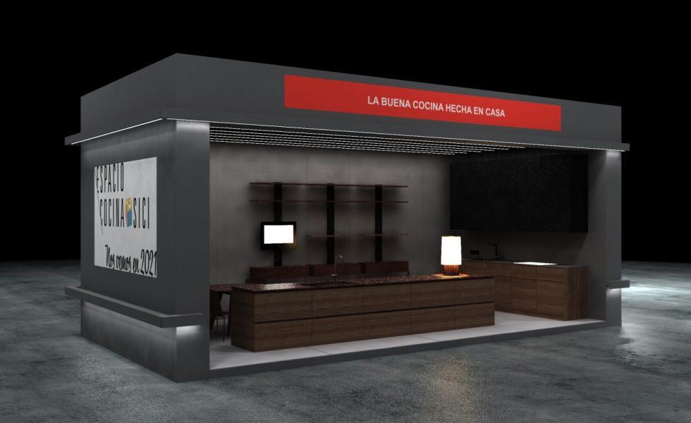 AMC promociona Espacio Cocina-SICI 2021 en su stand en la feria HÁBITAT