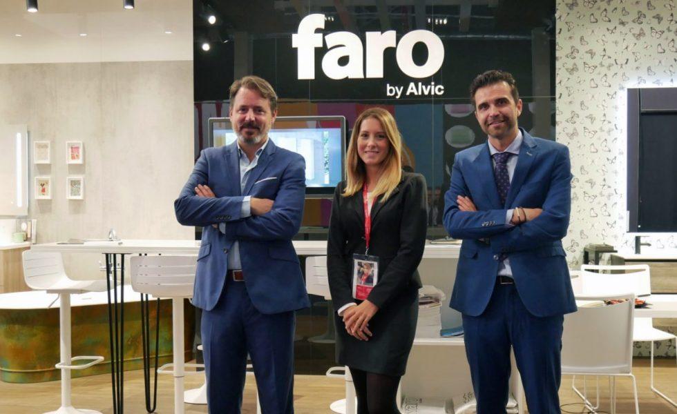 Faro by ALVIC sorprende con su propuesta de baños en Cersaie 2019