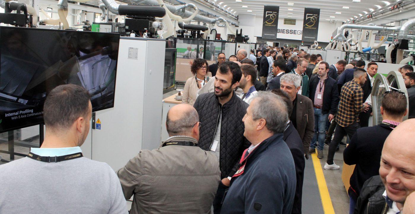 BIESSE muestra, también a las Pymes, el camino hacia la fábrica digital