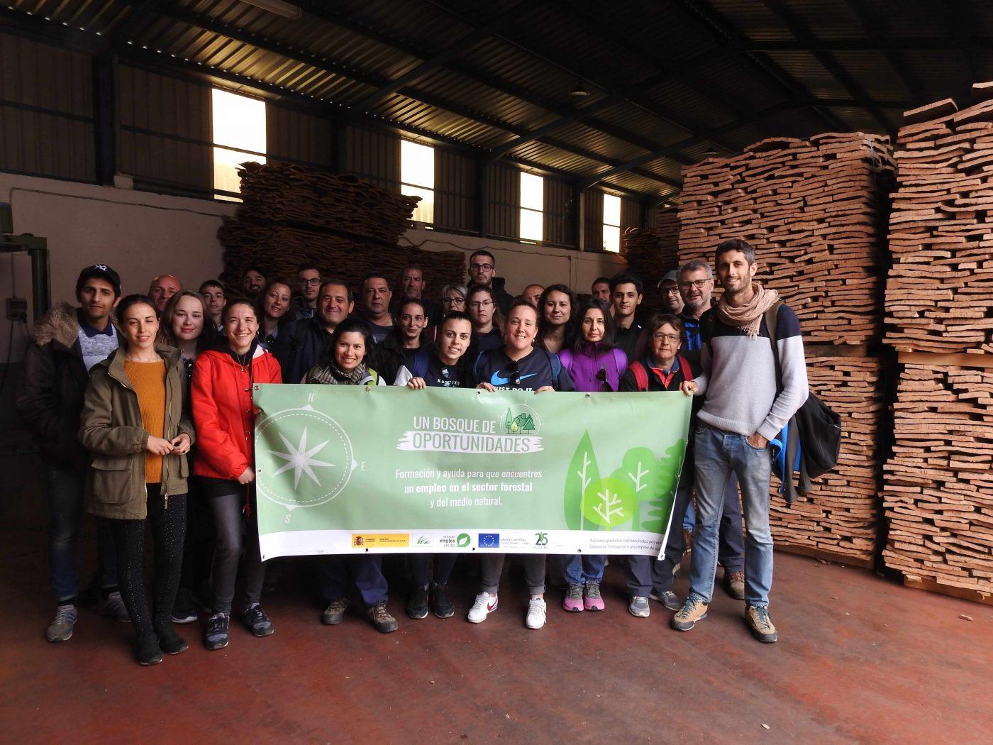 El proyecto BOSQUE DE OPORTUNIDADES ofrece formación gratuita a 220 alumnos