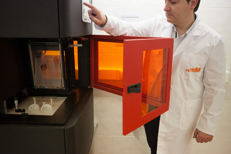 CETEM apuesta por la impresión 3D como herramienta para la enseñanza en Europa