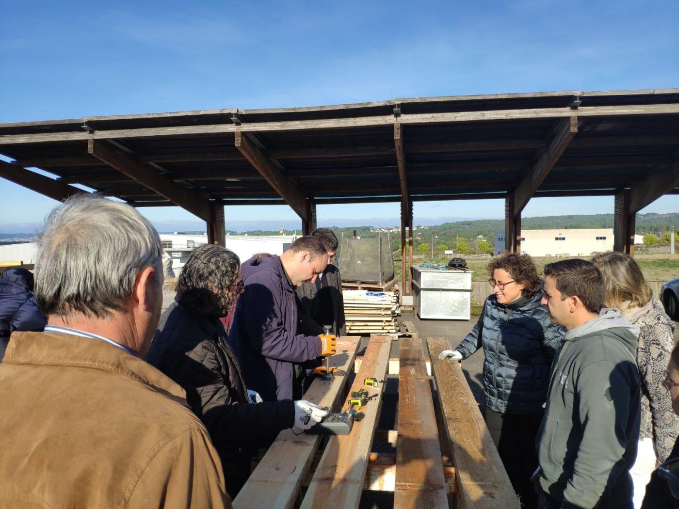 CIS Madeira forma a los aserraderos en la caracterización de la madera de uso estructural para construcción