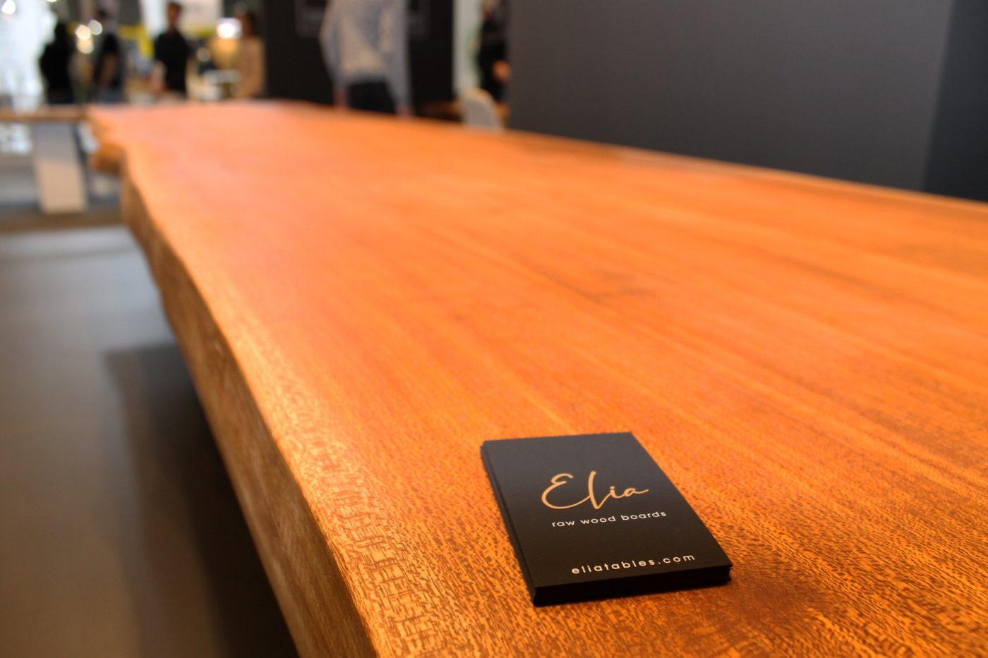 ELIA: Grandes mesas exclusivas de madera maciza