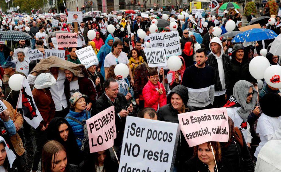 El FAR se suma al primer paro rural de la España vaciada