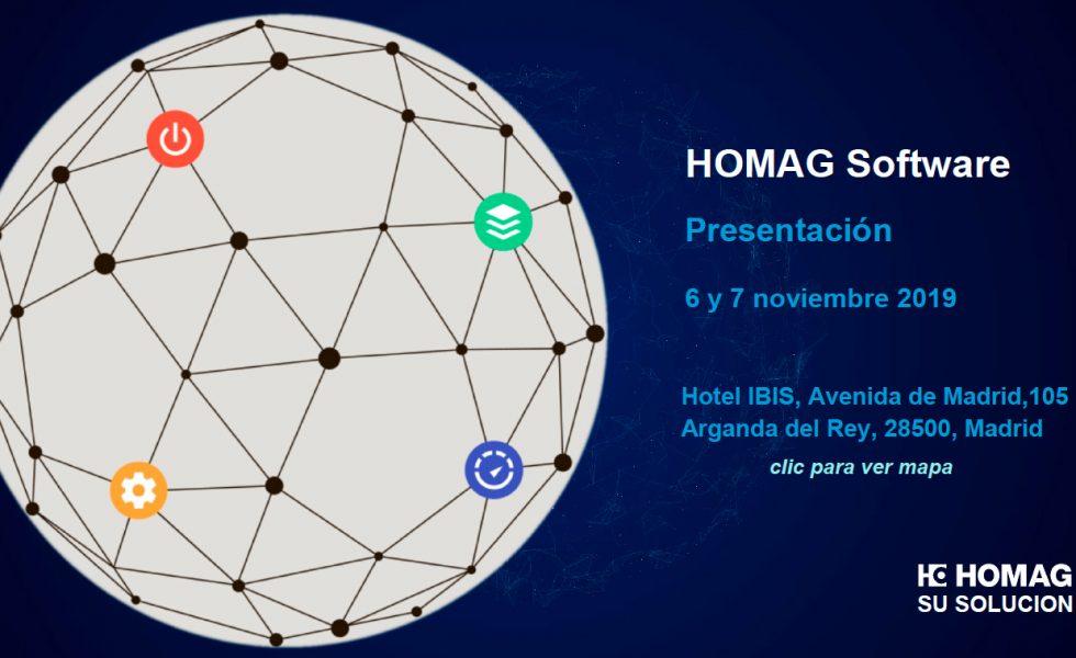 HOMAG presentará su software en Madrid