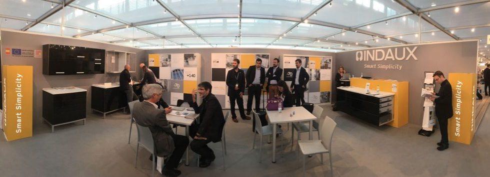 INDAUX presentará en SICAM los nuevos desarrollos de sus herrajes para mobiliario y carpintería