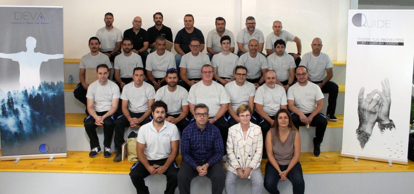 Éxito sin precedentes del primer Curso DEVA de «Especialización en Suelos de Madera»
