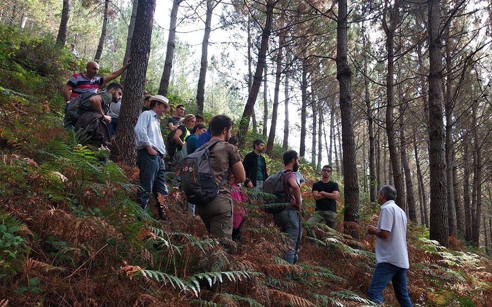 Más de un centenar de desempleados se preparan para trabajar en la economía procedente del bosque