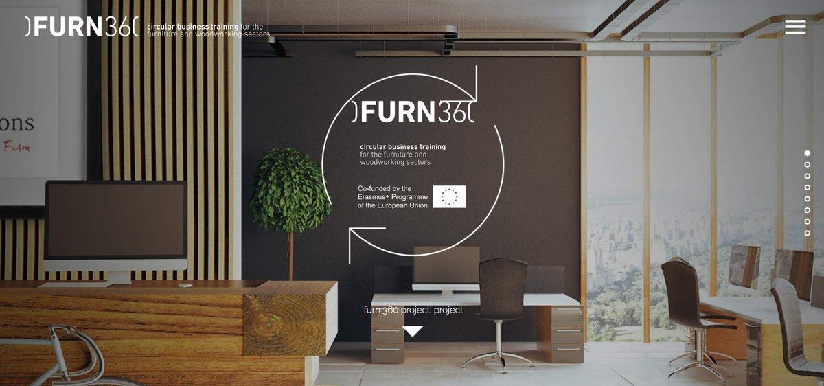 El proyecto europeo FURN360 lanza un curso para implantar la economía circular en el sector del hábitat