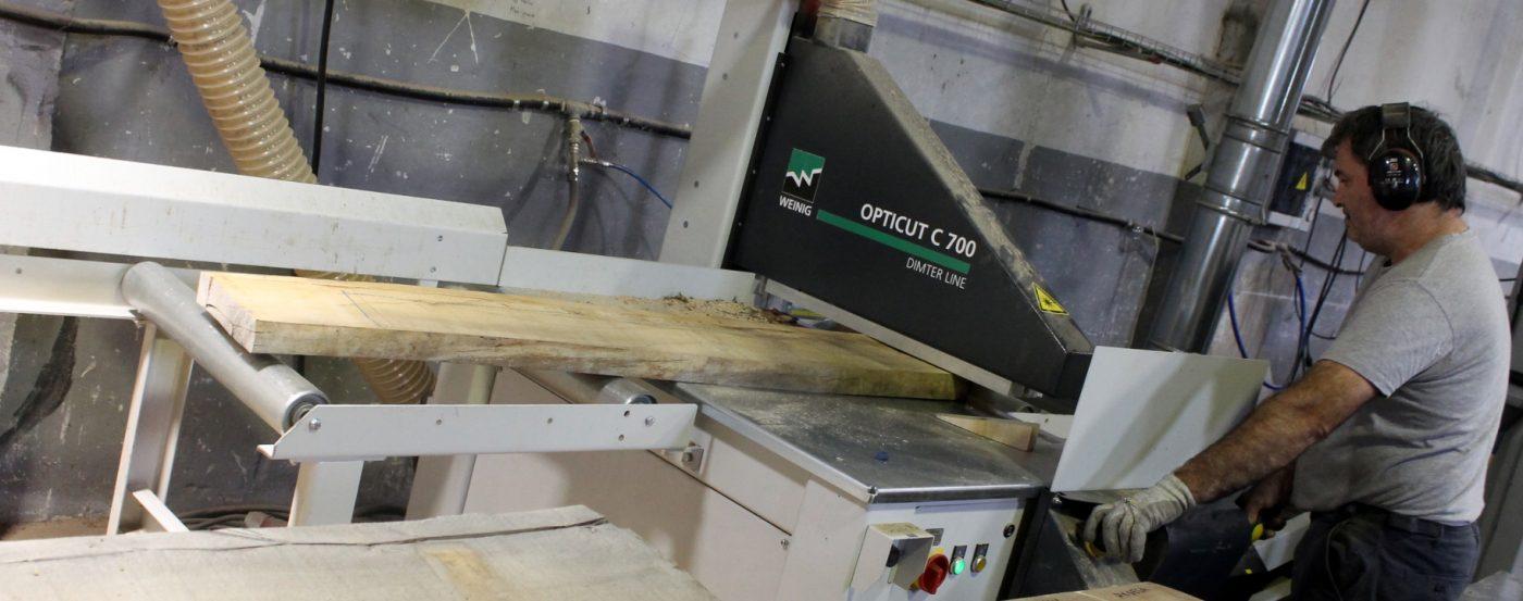 BARBIUR aumenta productividad y seguridad con una tronzadora DIMTER