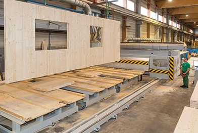 MONNET-SÈVE SOUGY lanza PLX, primer panel francés de madera contralaminada