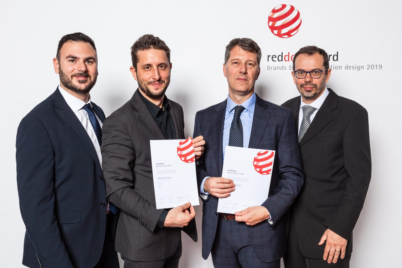 SCM GROUP y NiEW ganan el premio RedDot Award Con el proyecto de la interfaz hombre-máquina