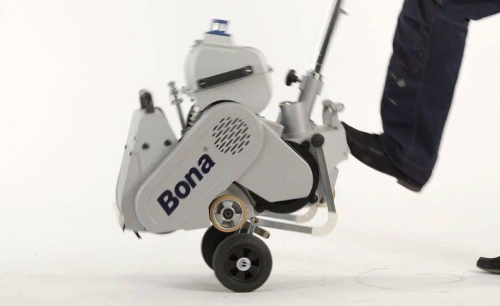BONA lanza la nueva lijadora Bona Belt UX
