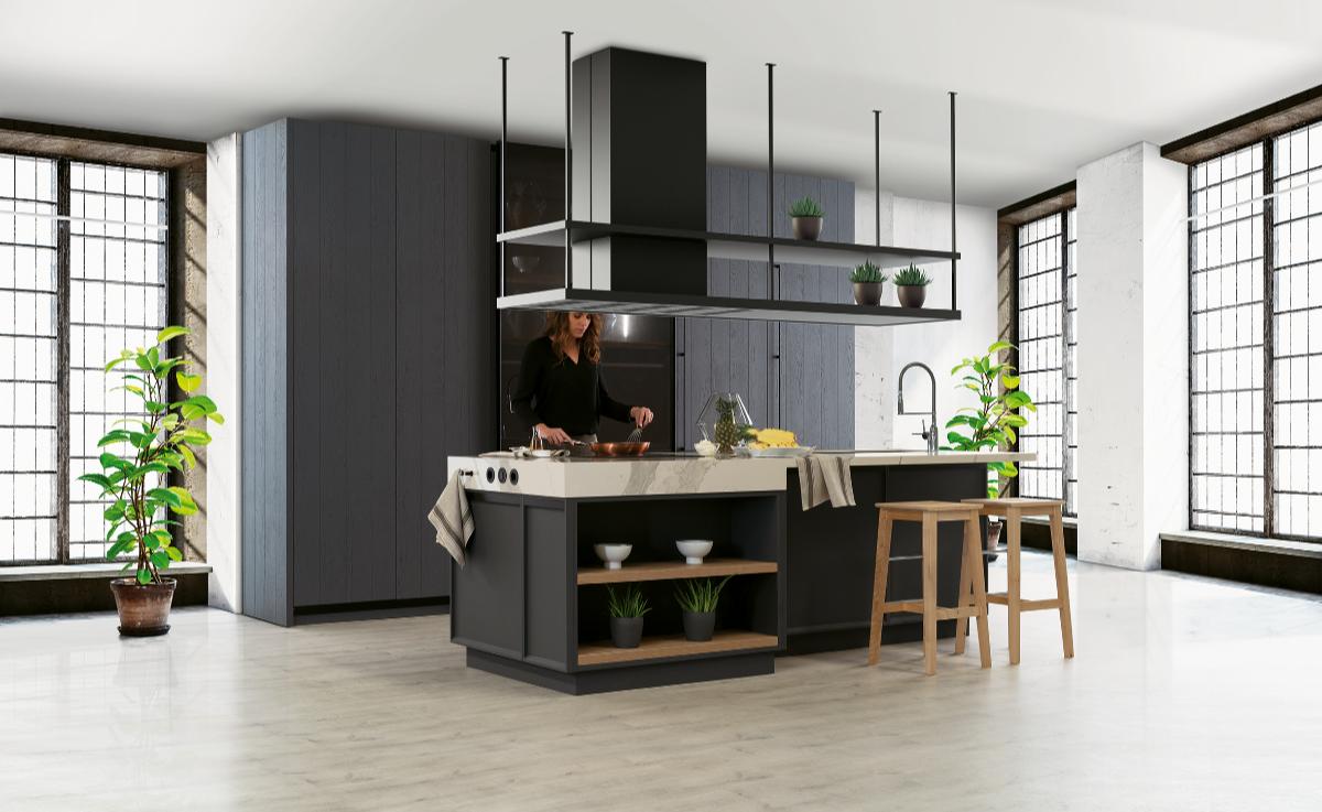 Cocinas en negro, un toque de elegancia y personalidad