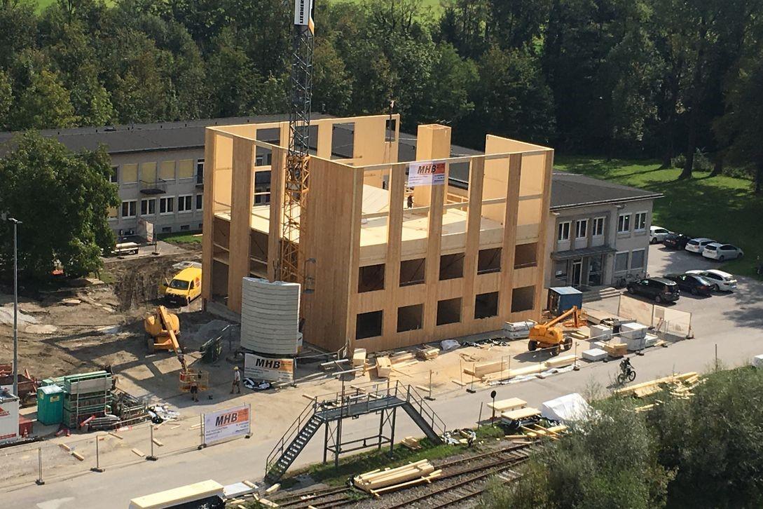 El CLT se posiciona como el nuevo acero del siglo XXI en materia de construcción