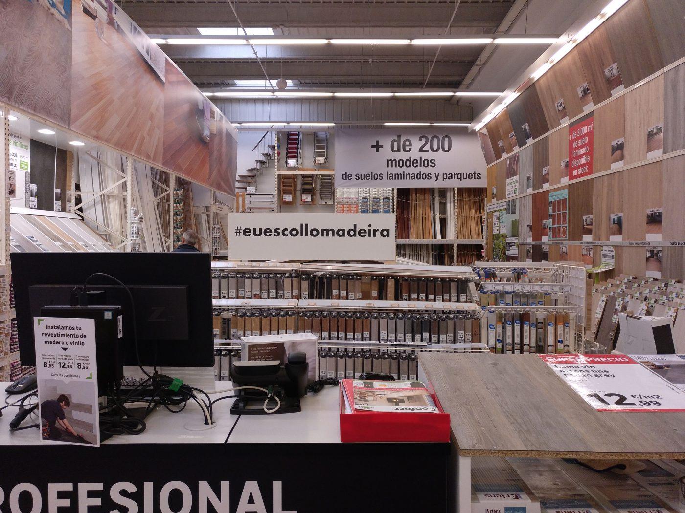 Campaña de sensibilización del uso de la madera en la vida cotidiana