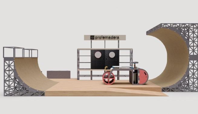 El proyecto Bowlstand será el stand de PROFEMADERA en FIMMA-MADERALIA