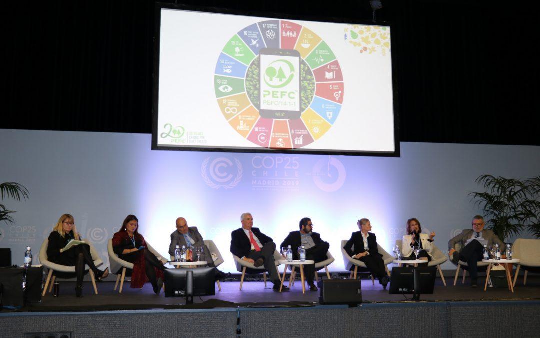 PEFC participó en la Reunión de Alto Nivel sobre Bosques en la Cumbre del Clima