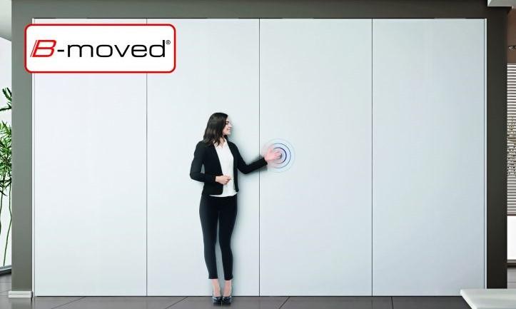 Un sensor permite controlar las puertas sin tocarlas