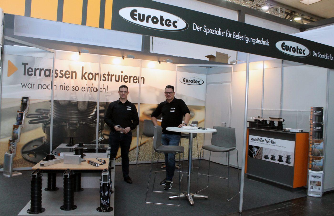 EUROTEC, presente en DOMOTEX con sus productos para terrazas y exteriores