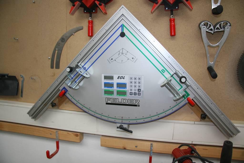 Dispositivo electrónico para doble corte a inglete EGL 1350