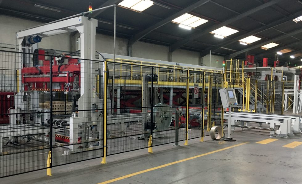 JOUBERT PLYWOOD incorpora una nueva línea de embalaje automatizada