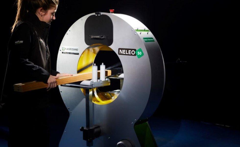 PLASTICBAND idea un sistema de embalaje para agrupar la mercancía